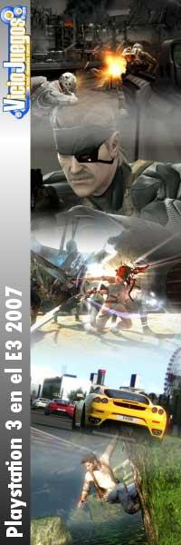 El E3 2007 para PlayStation 3