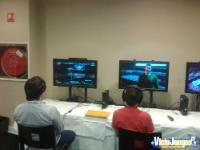 Los compañeros de prensa jugaban al modo historia y al multijugador