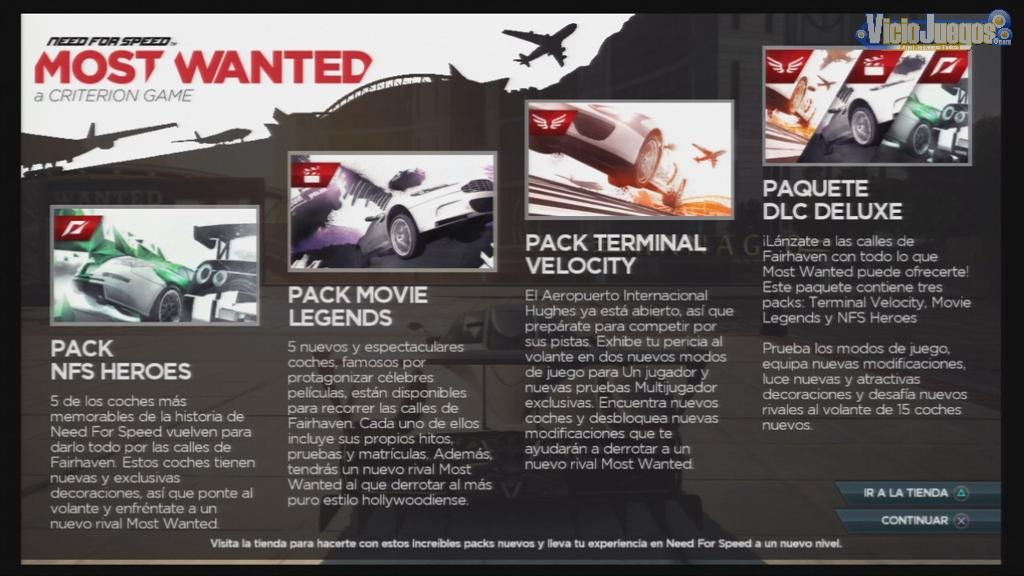 nfs most wanted 2012 dlc deluxe