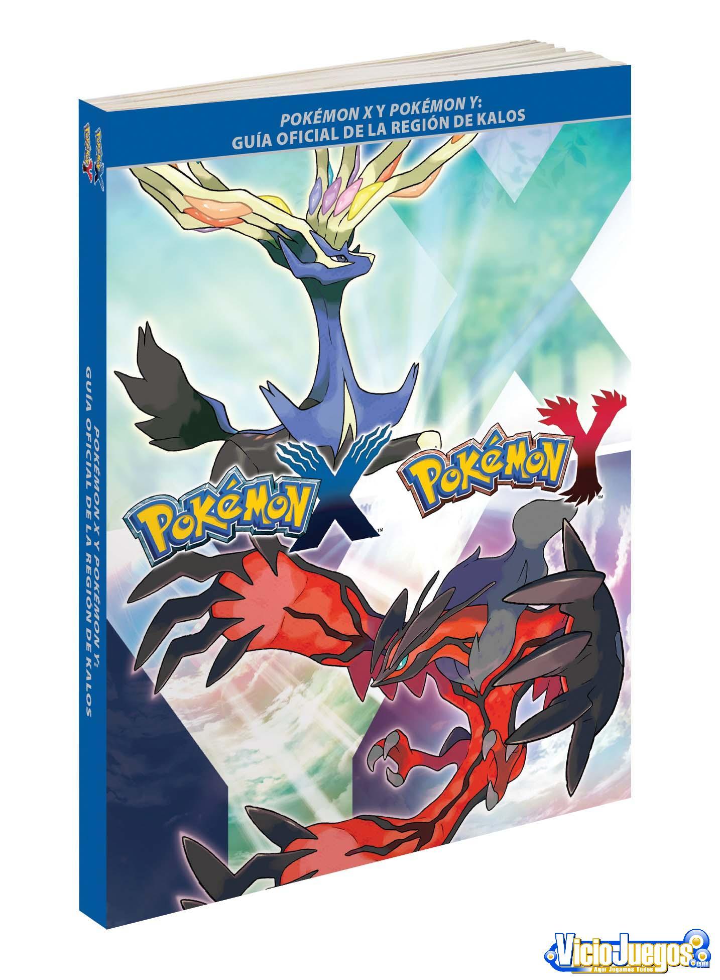 Todo acerca de la Guía Oficial de Pokémon X/Y