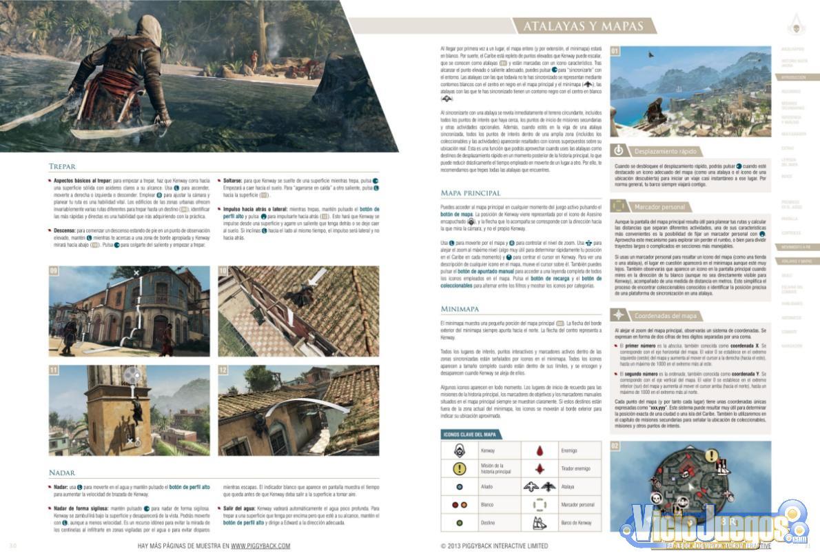 Analizamos la guía oficial de Assassin's Creed IV