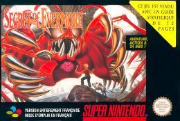 Carátula de Secret of Evermore para Super Nintendo