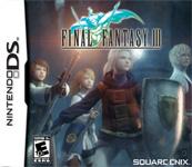 Carátula o portada No oficial (Montaje) del juego Final Fantasy III para Nintendo DS