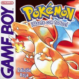 Carátula de Pokémon Rojo para Game Boy