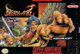 Carátula de Breath of Fire para Super Nintendo