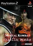 Carátula o portada No oficial (Montaje) del juego Mortal Kombat: Shaolin Monks para PlayStation 2