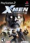 Carátula de X-Men Legends II: El Ascenso de Apocalipsis para PlayStation 2