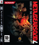 Car�tula de Metal Gear Solid 4: Guns of the Patriots