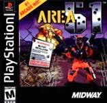 Carátula de Area 51