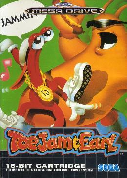 Carátula de ToeJam & Earl para Mega Drive