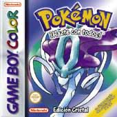 Carátula de Pokémon Cristal para Game Boy Color