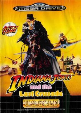 Carátula de Indiana Jones and the Last Crusade para Mega Drive