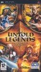 Carátula de Untold Legends: Brotherhood of the Blade para PlayStation Portable