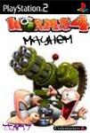 Carátula o portada No oficial (Montaje) del juego Worms 4: Mayhem para PlayStation 2