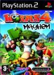 Carátula de Worms 4: Mayhem para PlayStation 2