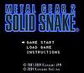 Carátula de Metal Gear 2: Solid Snake para Móviles