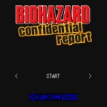 Carátula de Biohazard: Confidential Report para Móviles