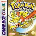 Carátula de Pokémon Oro para Game Boy Color