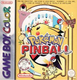 Carátula de Pokémon Pinball para Game Boy Color