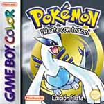 Carátula de Pokémon Plata para Game Boy Color