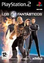 Carátula de Los Cuatro Fantásticos: La Película para PlayStation 2
