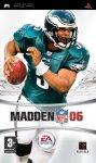 Carátula de Madden NFL 06 para PlayStation Portable