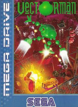 Carátula de Vectorman para Mega Drive