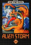 Carátula de Alien Storm para Mega Drive