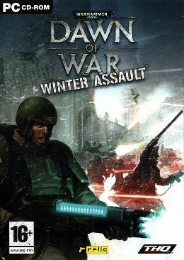 Carátula de Warhammer 40.000: Dawn of War - Winter Assault para PC