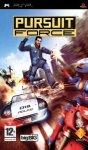 Carátula de Pursuit Force para PlayStation Portable