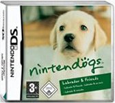 Carátula de Nintendogs: Labrador y Compañía para Nintendo DS