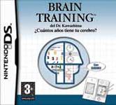 Carátula de Brain Training del Dr. Kawashima: ¿Cuántos años tiene tu cerebro? para Nintendo DS