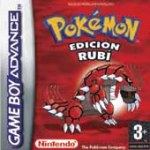Carátula de Pokémon Rubí para Game Boy Advance