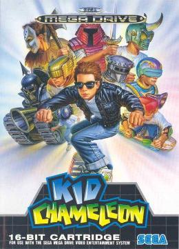Carátula de Kid Chameleon para Mega Drive