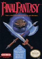 Carátula de Final Fantasy para NES