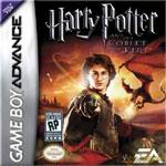 Carátula de Harry Potter y el Cáliz de Fuego para Game Boy Advance