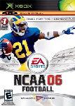 Carátula de NCAA Football 2006 para Xbox Classic