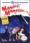 Carátula de Maniac Mansion para NES