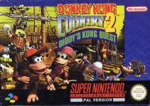 Carátula de Donkey Kong Country 2: Diddy's Kong Quest para Super Nintendo
