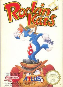 Carátula de Rockin' Kats para NES