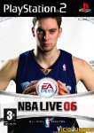 Carátula de NBA Live 06 para PlayStation 2