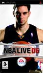 Carátula de NBA Live 06 para PlayStation Portable