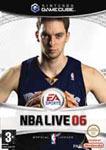 Carátula de NBA Live 06 para GameCube