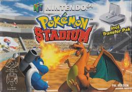 Carátula de Pokémon Stadium para Nintendo 64