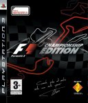 Carátula de F1 Championship Edition para PlayStation 3