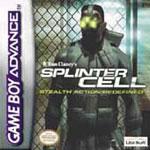 Carátula de Tom Clancy's Splinter Cell para Game Boy Advance