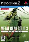 Carátula de Metal Gear Solid 3: Subsistence para PlayStation 2