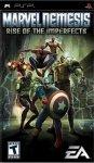 Carátula de Marvel Nemesis: La Rebelión de los Imperfectos para PlayStation Portable