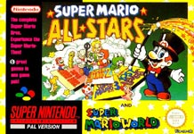 Carátula de Super Mario All Stars + Super Mario World