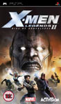 Carátula de X-Men Legends II: El Ascenso de Apocalipsis para PlayStation Portable